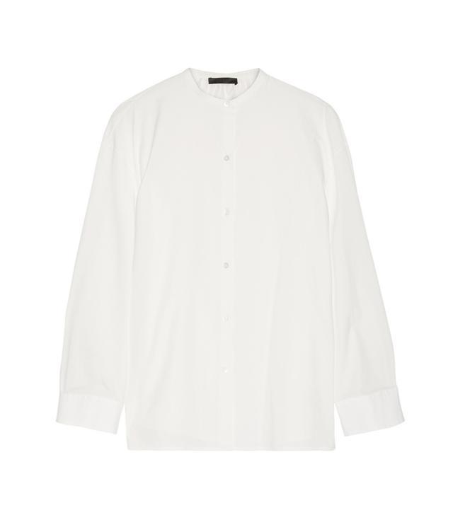 The Row Silu Cotton-Poplin Shirt