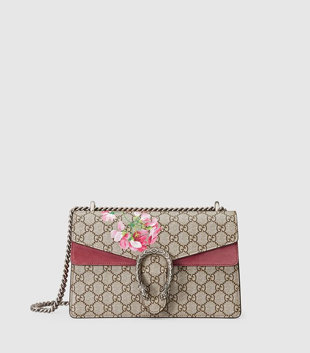 Gucci Dionysus Geranium Print Shoulder Bag