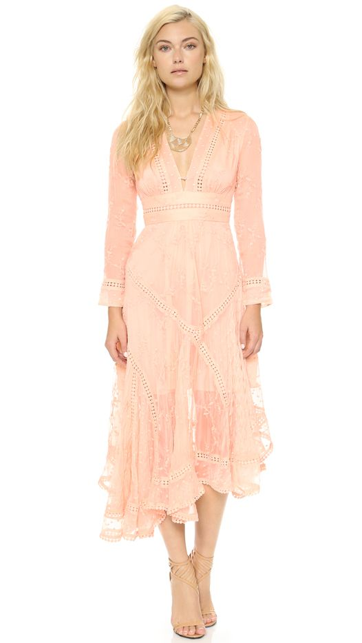 Zimmermann Admire Cherry Silk Dress
