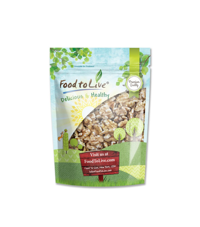 Food To Live Raw, No-Shell Walnuts