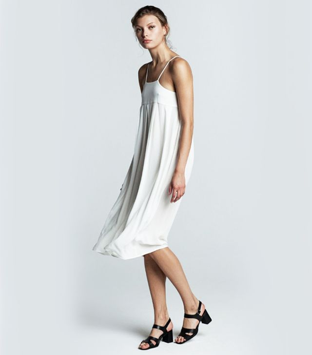 Trois Laetitia Mid-Length Dress