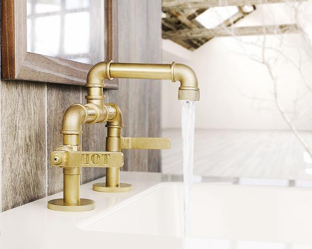 Watermark Elan Elevated Widespread Lavatory Faucet
