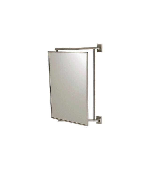 CRL Brushed Nickel Pivot-N-View Mirror