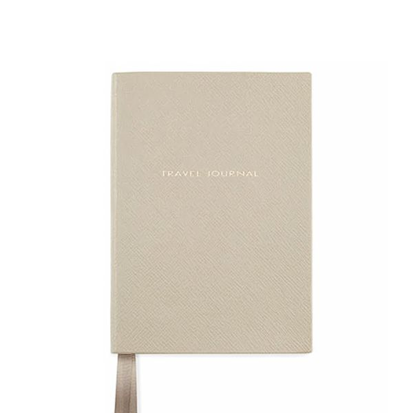 Smythson Leather Travel Journal