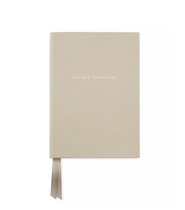 Smythson Leather Travel Journal