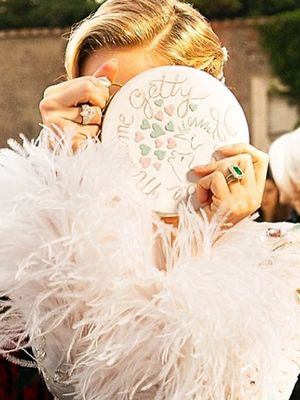 Look at Jewellery Designer Sabine Ghanem's Stunning Wedding Couture