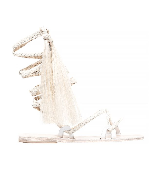 Brother Vellies Ivory Talitha Sandal