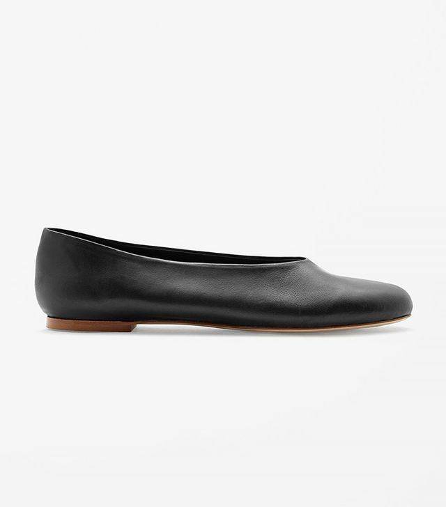 COS Slip-On Leather Shoes