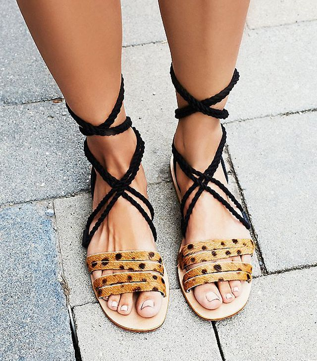 Cabin and Cove Hemingway Wrap Sandals