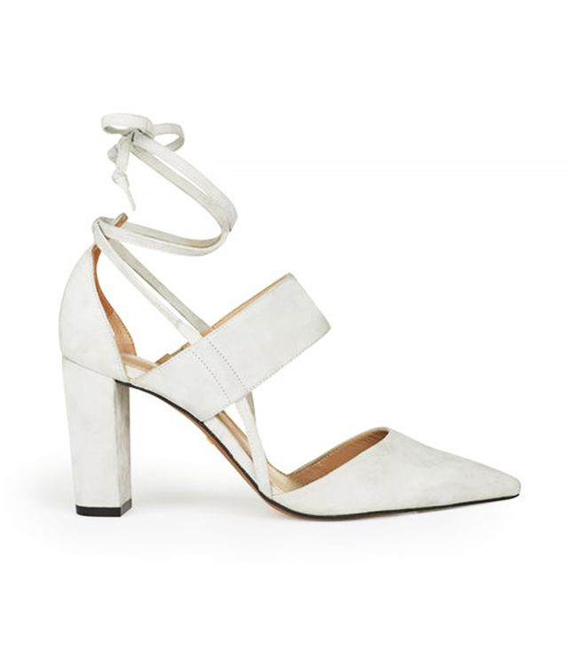 Whistles Azara Ankle Tie Point Shoes