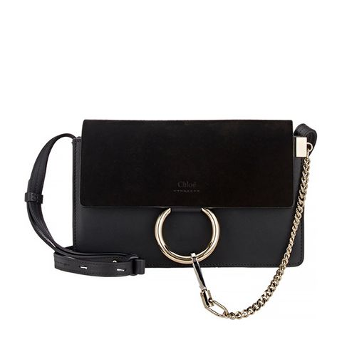 Faye Small Shoulder Bag, Black