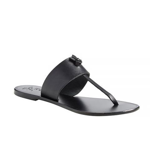 A la Plage 'Nice' Flip Flop, Black