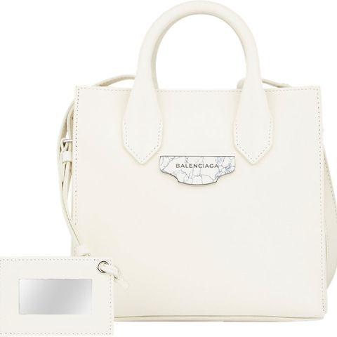 Mini Afternoon Tote, White