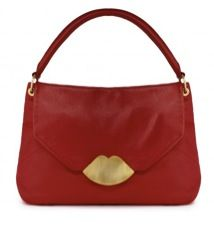 Lulu Guinness Lulu Guinness Leather Medium Nicola Bag