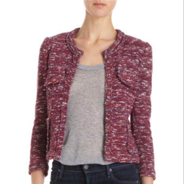 Etoile Isabel Marant Tweed Short Jacket