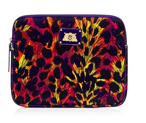Juicy Couture  Leopard Neoprene iPad Case