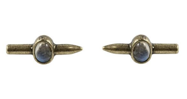 The 2Bandits Bullet Earrings