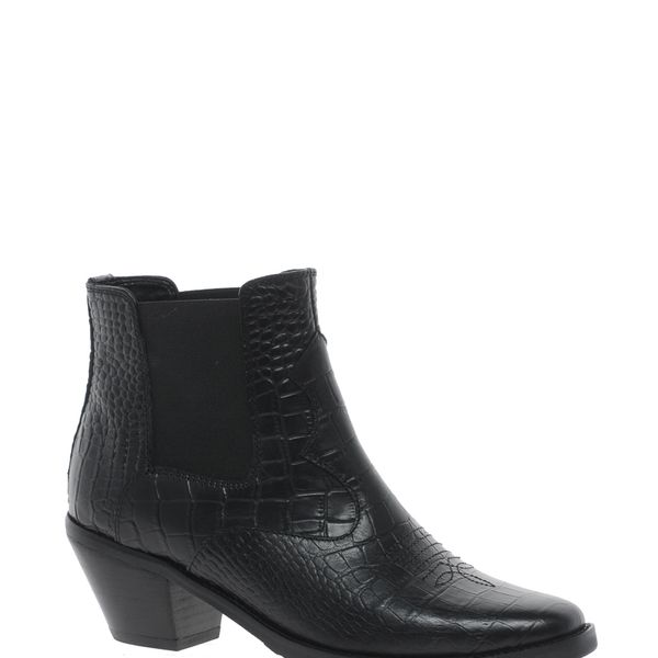 ASOS Archer Leather Ankle Boots