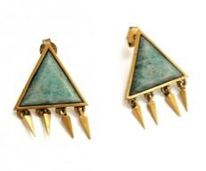 A Peace Treaty A Peace Treaty Ubari Amazonite Earrings