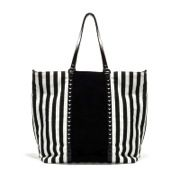 Zara Zara Striped Shopper