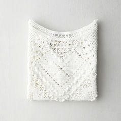 Lauren Moffatt Lauren Moffatt Crochet Crop Top