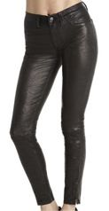 J Brand  J Brand Leather Super Skinny Jeans