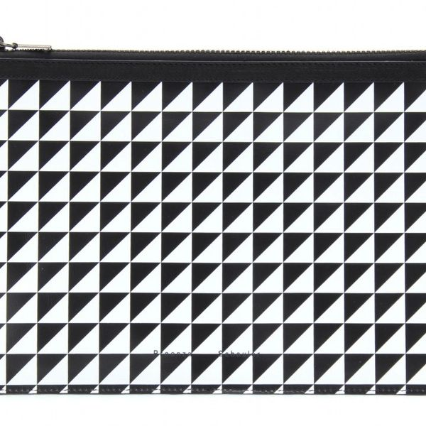 Proenza Schouler Zip Leather Pouch Medium