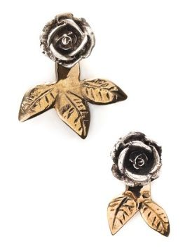 Pamela Love  Rose Earrings