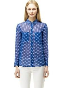 Club Monaco  Sawyer Dot Shirt