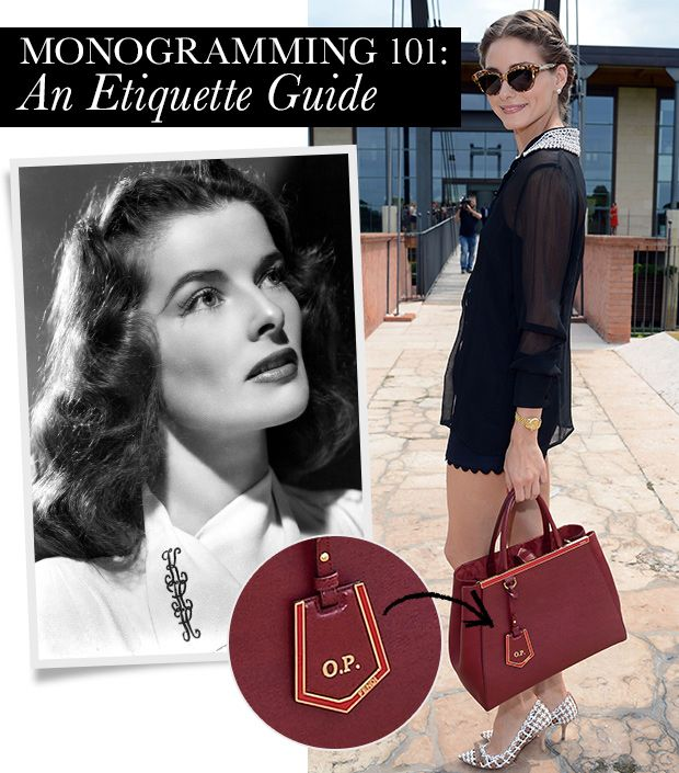 A Crash Course In Monogramming Etiquette