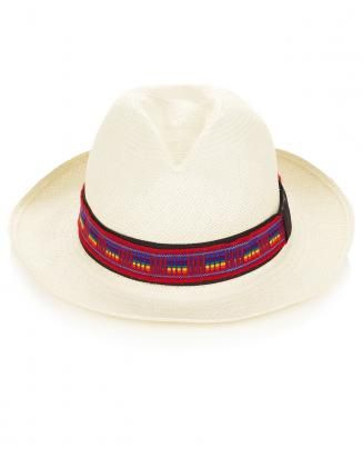 Valdez  Classic Panama Hat with Otavalo Band