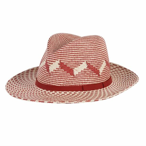Anthony Peto  Safari Patterned Panama Hat