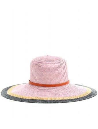 Emilio Pucci  Beach Straw hat with Leather Band