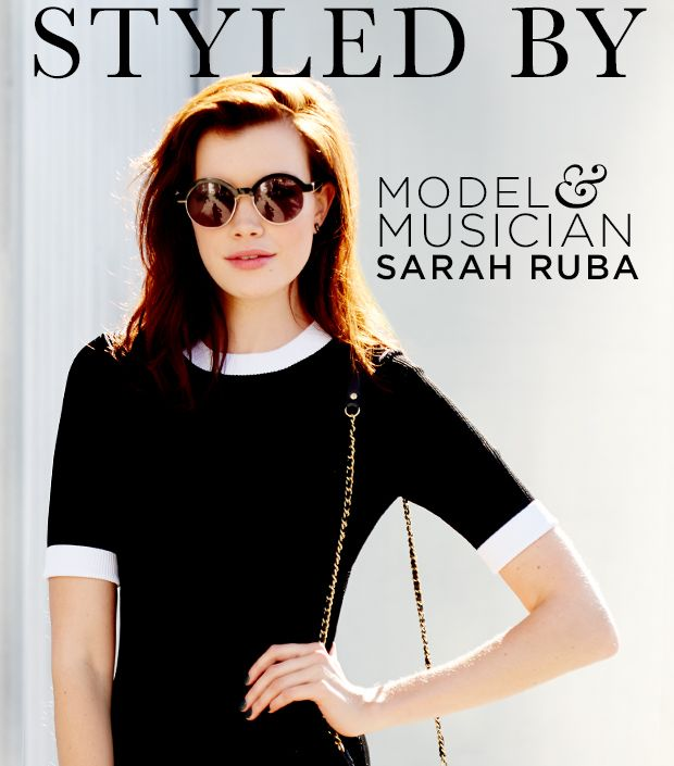 Our New Girl Crush, Sarah Ruba, Raids Our Closet