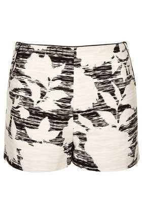 Topshop  Flower Print Shorts