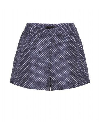 Burberry Prorsum  Print Silk Shorts