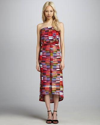 Velvet  Biarritz Strapless Dress