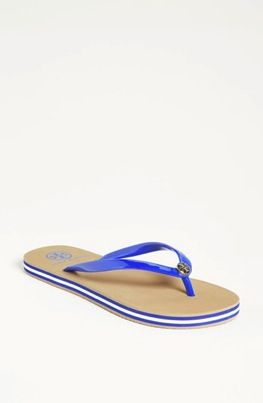 Tory Burch  Striped Sole Thong Sandal
