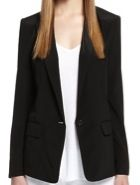 DKNY  DKNY Stretch Crepe De Chine Jacket