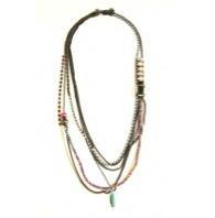 Iosselliani Iosselliani Mix Brass Necklace
