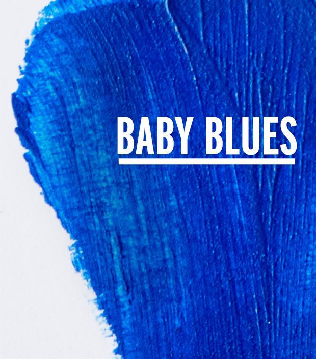 The Summer of Blue Eyeliner