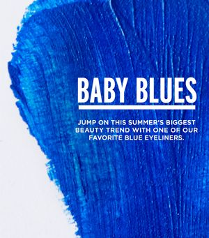 The Summer of Blue Eyeliner