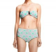 Lauren Moffatt Lauren Moffatt Backspin Bandeau and Hi-Waist Pants