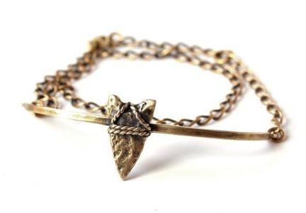 Bing Bang  Bing Bang Brave Arrow Wrap Chain Bracelet