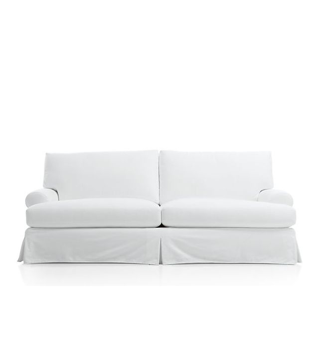 Crate and Barrel Ellyson Slipcovered Sofa