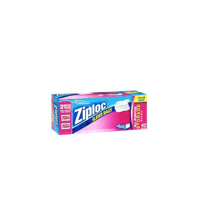 Ziploc Slider All-Purpose Quart Storage Bags