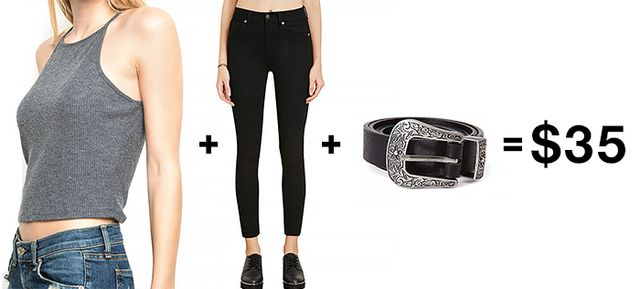 A Kendall Jenner-Inspired Look Under $50