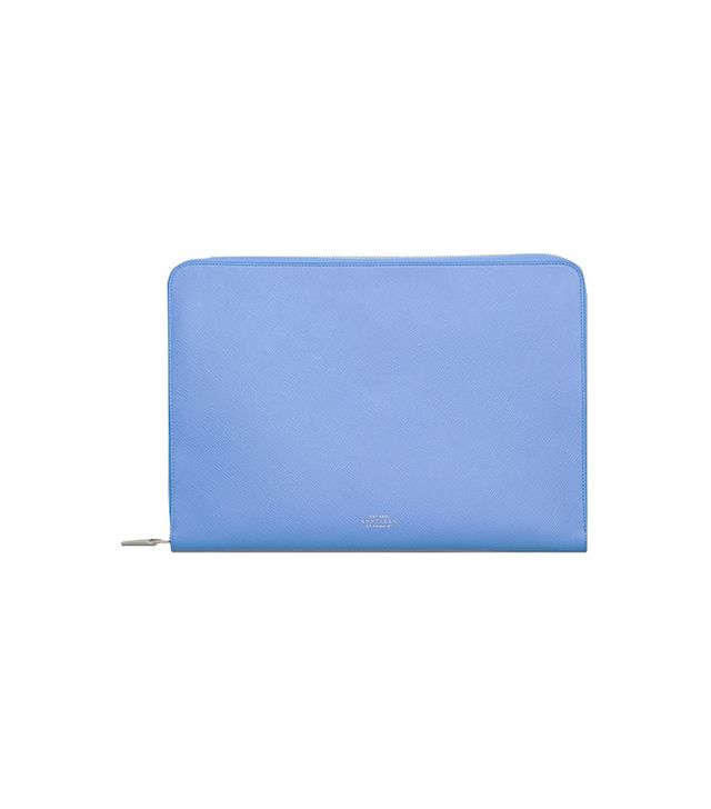 "Smythson Panama Men Collection 13"" Laptop Case"