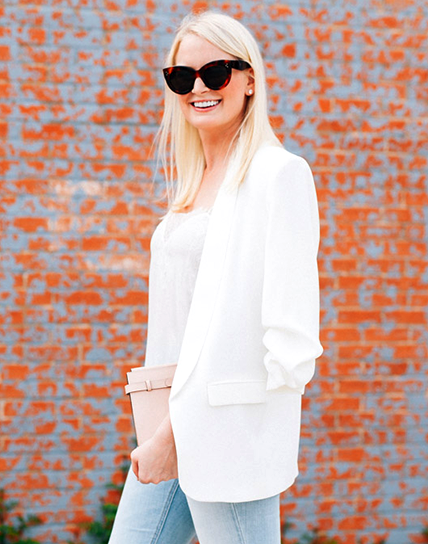 Flared Jeans Get The Blogger Treatment