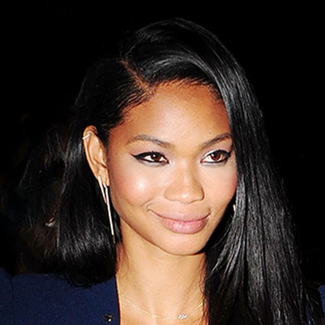 Chanel Iman's Gorgeous Jumpsuit Is Perfect for a Night Out
